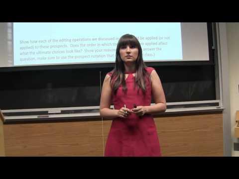 Behavioral Economics - Editing Heuristics Discussion Question