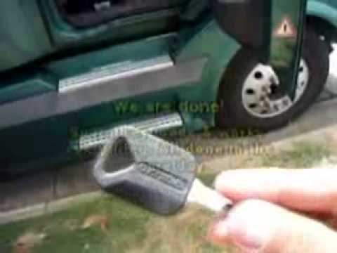 Locksmith in Duluth GA: 2004 Volvo Truck - Spare Key Made!