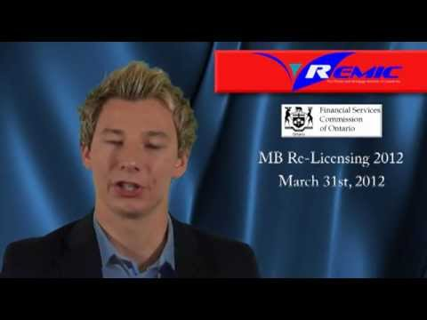 Ontario Mortgage Agent/Broker Re-Licensing Course