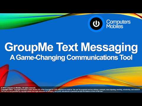 GroupMe Text Messaging - A Game Changing Communications Tool