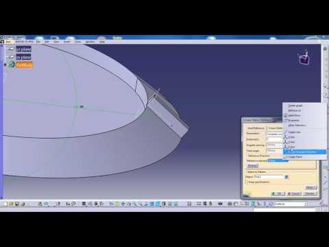 Catia V5 Part design bevel gear