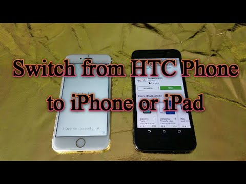 Switch from HTC Phone to iPhone or iPad- Move Contacts, Messages, Videos, Photos, Email, etc