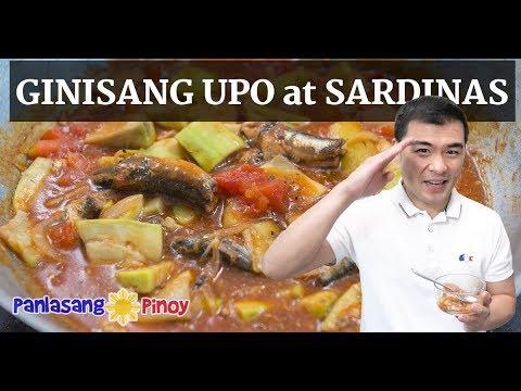 Ginisang Upo with Sardinas