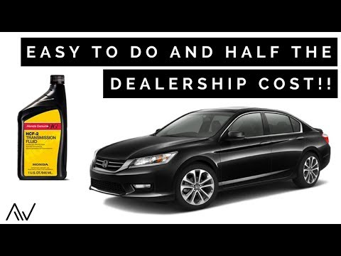 How to change the Transmission Fluid in a Honda Accord  | 2013 - 2017