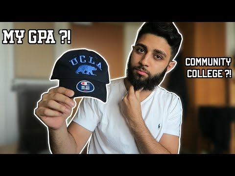 HOW I GOT INTO UCLA FROM COMMUNITY COLLEGE !!