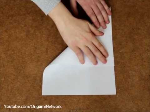 How to turn an A4 sheet of paper into a perfect Square // Origami 折り紙