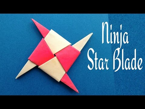 Ninja Star Blade Shuriken - DIY Origami Tutorial by Paper Folds ❤️