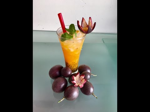 Passion fruit drink recipe /Nuoc chanh day