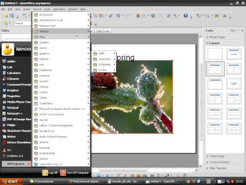 OpenOffice Impress (03): Inserting images