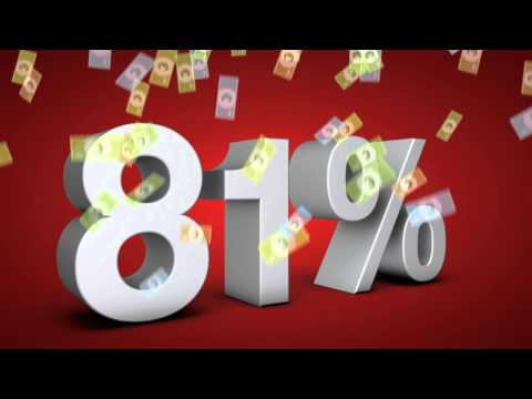 81% getting Tax Refunds in 2012
