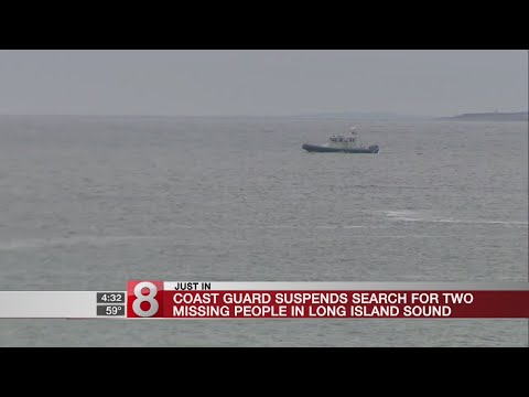 Coast Guard suspends search for 2 people possibly in water near Groton