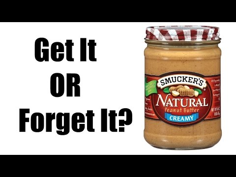 Smucker's Natural Peanut Butter Creamy | Get It or