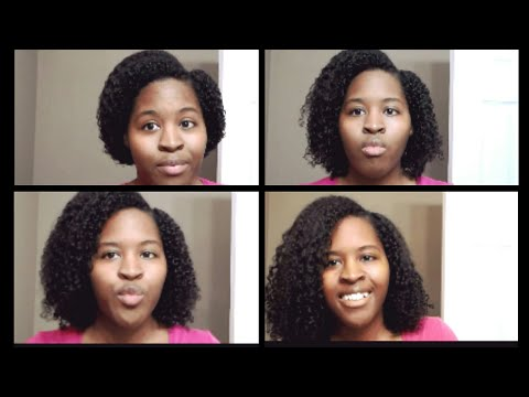 How to Stretch a Wash N Go l Get your length back!!!