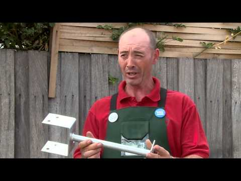 How To Set Up Post Supports For A Carport  - DIY At Bunnings