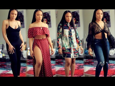 HUGE FOREVER21, SHEIN, ROMWE, MISS PAP, PRETTY LITTLE THING TRY ON HAUL