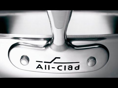 How an All-Clad Sauté Pan is made - BRANDMADE.TV