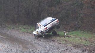 Spa Rally 2017 crash & mistakes