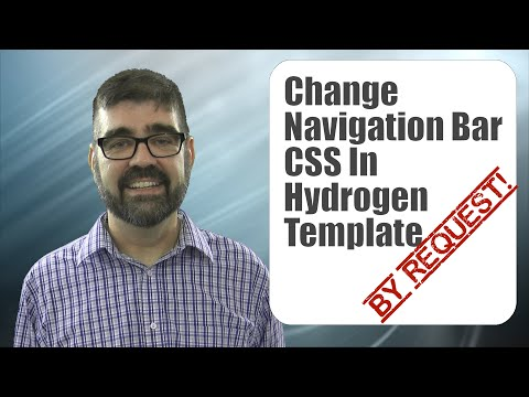 How to Change the Navigation Bar Height CSS in Rockettheme's Gantry 5 Hydrogen Template