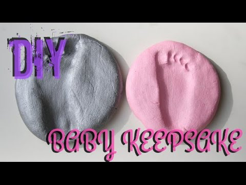 Quick & Easy DIY baby keepsake!!