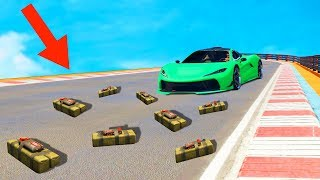 IMPOSSIBLE DODGE THE STICKY BOMBS CHALLENGE! (GTA 5 Funny Moments)