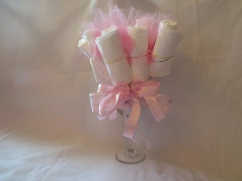Baby Diaper Bouquet