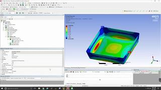 composite buckling simulation with ansys workbench 15