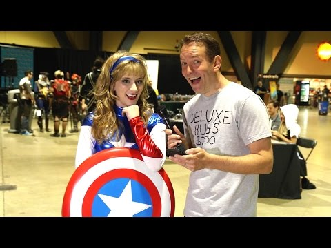 MORE Awkward Trivia with Cosplay Girls - LA Cosplay Con 2016