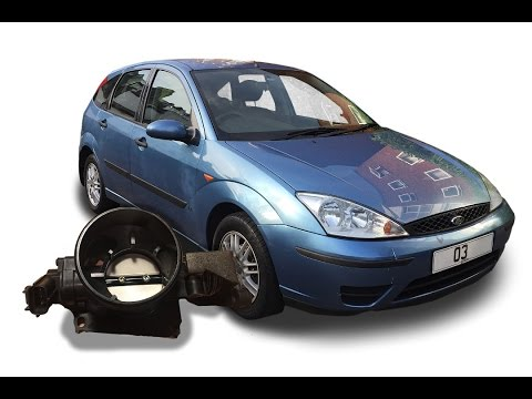 Ford Focus 1.6 Zetec - How to solve low idle / engine cut-out when warm