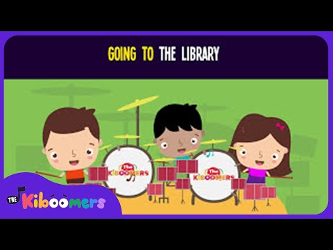 Going to the Library Song for Kids | Circle Time Songs for Children | The Kiboomers
