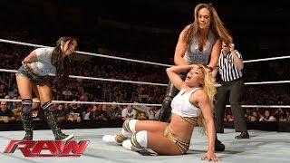 The Funkadactyls vs. AJ Lee & Tamina Snuka: Raw, Jan. 13, 2014