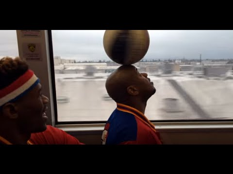 Globetrotters take the B.A.R.T. to Oakland