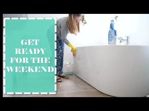 SPEED CLEANING FOR THE WEEKEND | CLEANING ROUTINE OF A MUM/ MOM OF 2