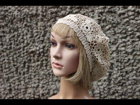 How to crochet women hat