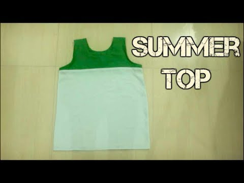 Patch Work Easy Summer Top Making
