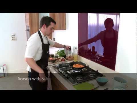 How to make Sweet potato and Butternut Soup - Soulmatefood TV & Amanda Hamilton