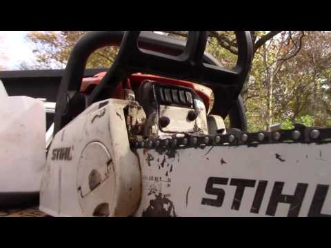 Stihl MS 180C Chainsaw Repair