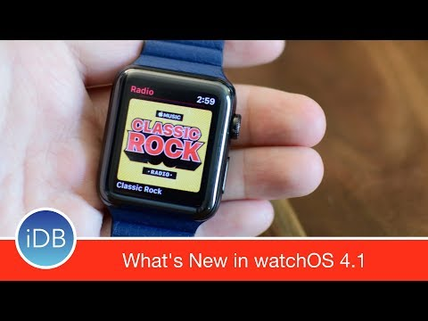 What's New in watchOS 4.1 - Apple Music Streaming & the New Radio App