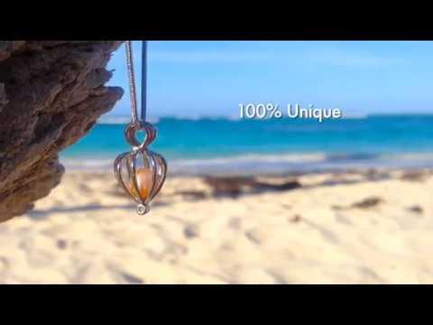 DIY Love Pearl Necklace