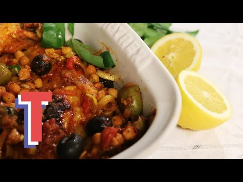 Simple Italian Chicken with Tomatoes & Chickpeas | Yum In The Sun 3