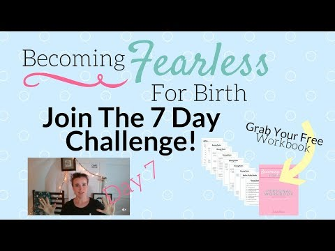 [ Challenge ] Becoming Fearless For Birth Day 7