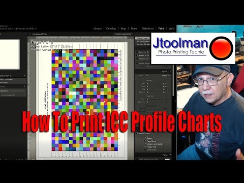 How To Print ICC Profile Charts