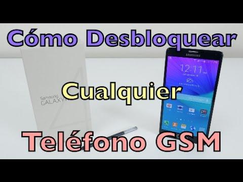 Cómo desbloquear cualquier teléfono GSM (Cualquier operador o país) Samsung, LG, Apple, HTC, ETC