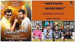 Meesaiya Murukku Movie Review | Dumbest Review | Hiphop Thamizha Aadhi | Smile Settai