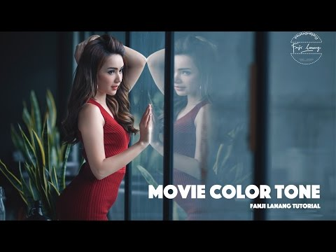 Movie Color Tone Photoshop Tutorial | Cinematic Grading