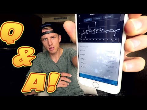 Resting HEART RATE of a PRO CYCLIST? - Questions & Answers September 2017 - #cycling