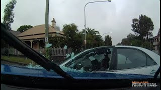 Camry pulls across road and gets T boned - Parramatta NSW
