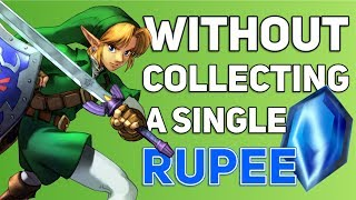 Can You Beat The Legend Of Zelda: Ocarina of Time Without Collecting A Single Rupee?