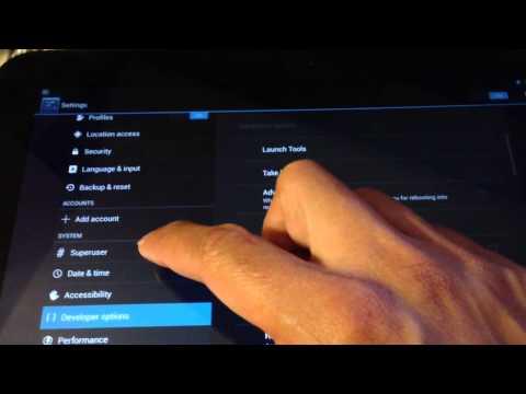 Superuser Tablet CM