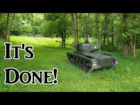Homemade Tank Part 25 (It's Done!)