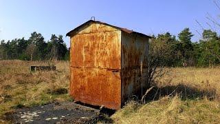 Lostplaces: Bunker Versteck gefunden (Ehemaliges Übungsgelände)